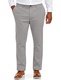Men's Tapered-Fit Broken-in Stretch Chino Pant fit by DXL