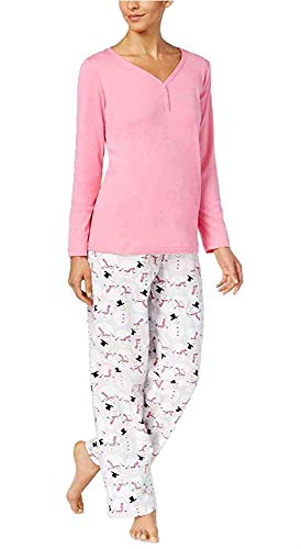 Charter Club 100% Cotton Pajama Set (Happy Snowman) - 20 Snowman