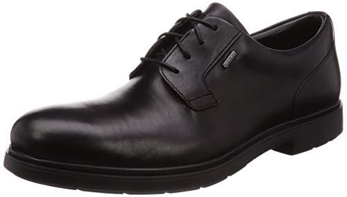 Clarks Un Tailor Go Gore-Tex Leather Shoes in Black