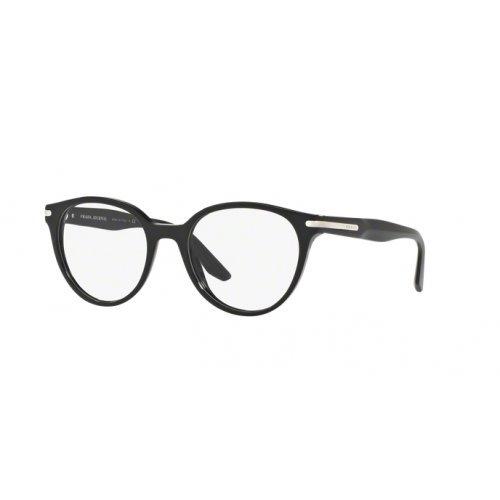 - Prada PR07TV Eyeglass Frames 1AB1O1-50 - Black PR07TV-1AB1O1-50