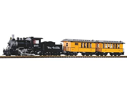 (Piko 38111 Denver and Rio Grande Western Passenger Start Set w/Lights, Sound, Smoke)