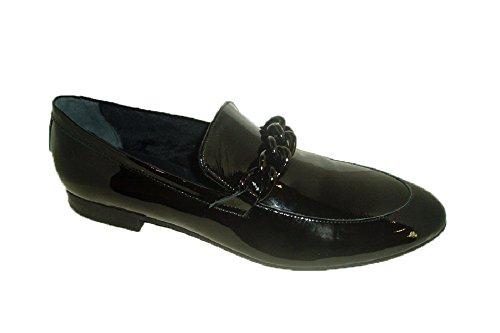Zapato Frau 90V5 adorno hebilla plano