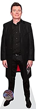 Rick Astley Life Size Cutout Celebrity Cutouts