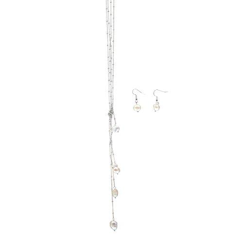 ARIS Genuine Freshwater Necklace Earrings