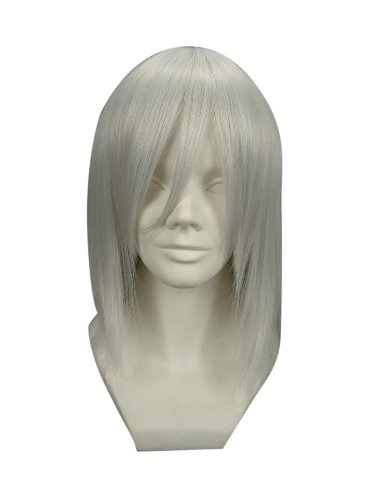"Tengs 16"" Straight Silver Gray Allen Walker of D.Gray-man for sale  Delivered anywhere in USA"