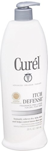 Curel Itch Defense Skin Balancing Moisture Lotion 20 oz (Pack of 2)