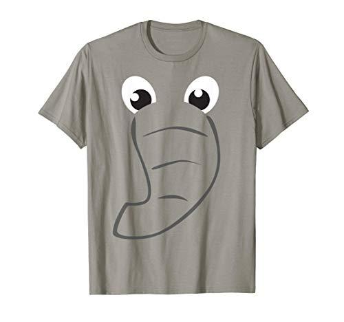 Elephant Face Shirt Cute Kids Halloween Costume Animal Gift]()