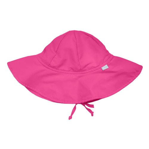 i play. Baby Brim Sun Protection Hat, Hot Pink, 9-18 Months