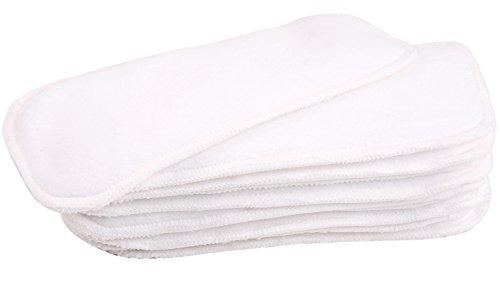 "wegreeco Dog Diaper Pads - Bundle of 10 - (Female Medium, 3.54"" x5.5.)"