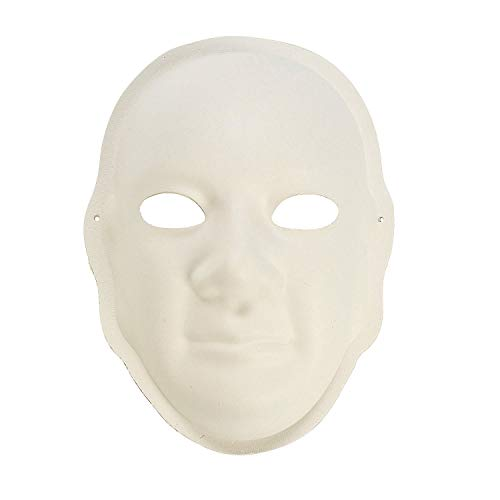 Fun Express - DIY Paper Masks 6pc - Craft Kits - DYO - Paper - Apparel - 6 Pieces]()
