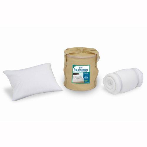 Sleep Innovations Bag of Comfort Twin Memory Foam Topper ...