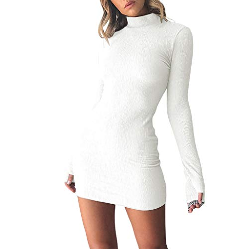 Sunhusing Ladies Sexy Slim Fit Mini Dress Womens
