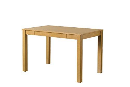 ダイニングテーブル 引出し付木製 110cm幅  ナチュラル  VGL-25NA B07CGBHN4C Parent