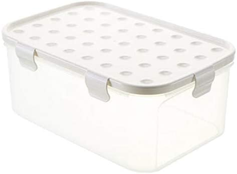 Frigorifico, caja fresca, transparente caja de almacenamiento, creativo Seal cover, multifuncional nevera, Fresh Box, almacenamiento y almacenamiento,Rectángulo,Arroz: Amazon.es: Hogar
