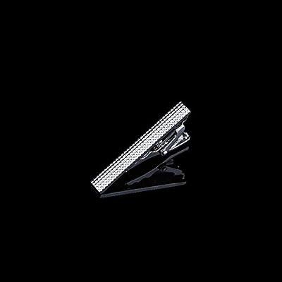 Clip de Corbata Plateado Clip de Corbata Corto Simple para Hombre ...