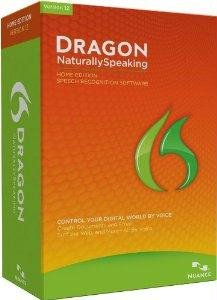 Dragon NaturallySpeaking Home - ( v. 12 ) - complete package (K409A-G00-12.0) -