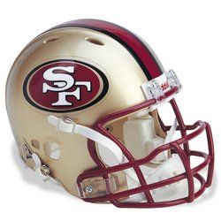 UPC 095855950563, Revolution Mini Football Helmet: San Francisco 49ers