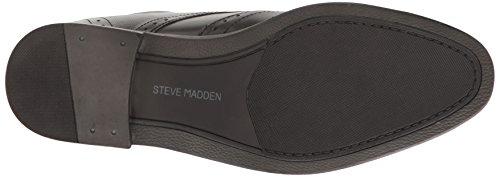 Steve Madden Mens Shaww Oxford In Pelle Nera