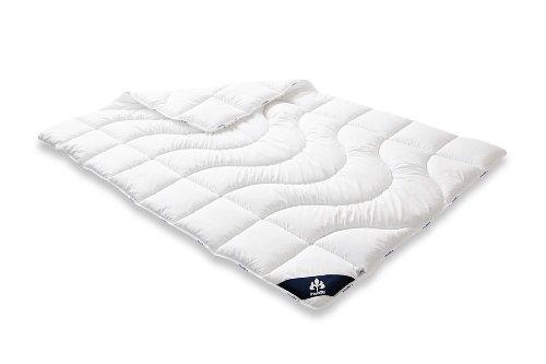 Badenia 03691010140 Bettcomfort Steppbett Irisette Micro Thermo Duo, 135 x 200 cm, weiß