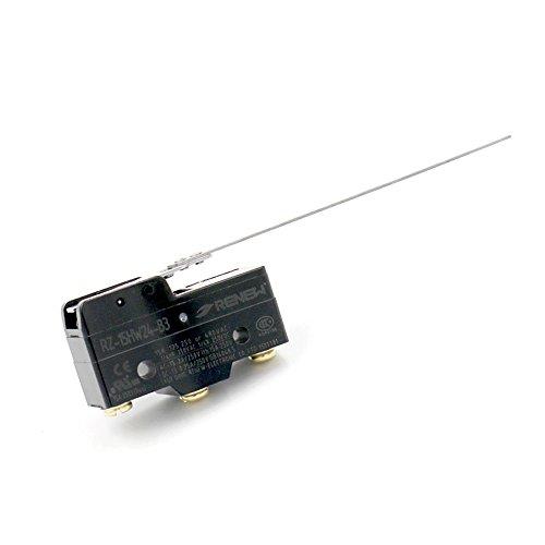 Baomain Micro Switch Z-15HW24-B SPDT Momentary Long Hinge Lever Ui 380V Ith 15A UL CE (Micro E/z Hinge)