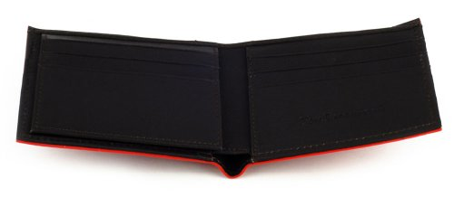 Red Holder Bi Stingray Wallet Fold Red Slots Card BROWN Credit 9 w ID xPxXT5qFw
