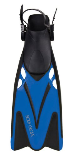 Body Glove Professional Snorkeling Belize Fins, Blue, (Body Glove Diving)