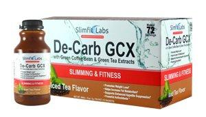 Green Coffee Bean & extraits de thé vert Slim Fit Labs (Jardin de la Création) De-carb perte GCX Fitness Diététique exercice
