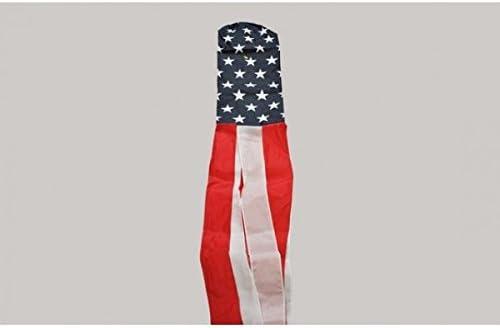 WINDSACK USA VEREINIGTE STAATEN 150cm VEREINIGTEN STAATEN VON AMERIKA WINDFAHN