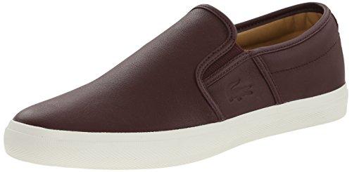 Lacoste Mens Gazon 8 Fashion Sneaker Dark Brown 11 M US