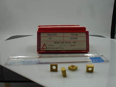 New Inserts 10 1449 SCMT 32.51 WF LP2002 CERAMETAL