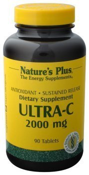 Nature's Plus - Ultra-C (Sustained Release), 2000 mg (4-Pack of 90) by Nature's Plus