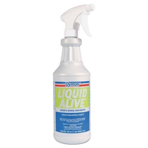 ITW LIQUID ALIVE Odor Digester, 32oz Bottle, 12/Carton (33632 Liquid)