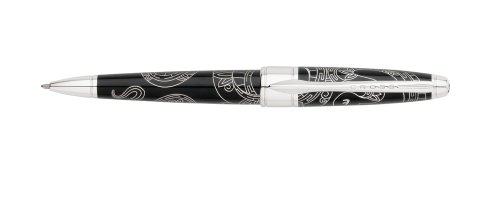 Cross 2013 Year Of The Snake Special Edition Collection Ballpoint Pen, China Black Lacquer (AT0122-14)