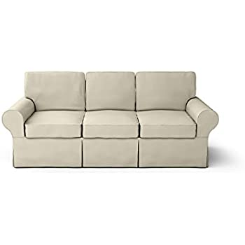 Amazon Com Custom Made Slipcovers For Pb Basic Sofa Sand Beige