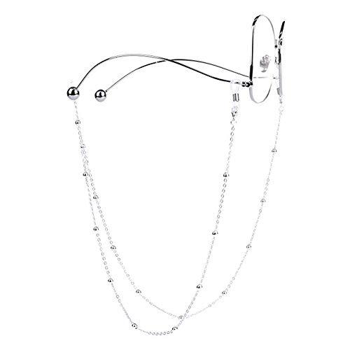 Mocal Vintage Eyeglass Chains for Women Beaded Reading Glasses Cords Sunglasses Holder Strap Lanyards Eyewear Retaine ()