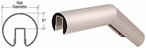 CRL Brushed Stainless 32 Degree Upper Incline Corner for 3-1/2