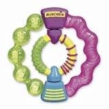 : Munchkin Fun Ice Twisty Ring Teether