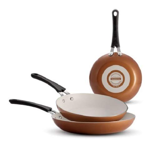 Tramontina Ceramic-Reinforced Nonstick Fry Pans, Set of 3 ()