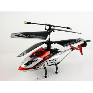 "Indoor Infrared RC Gyroscope Helicopter ""Drift King"" - Colors May Vary"