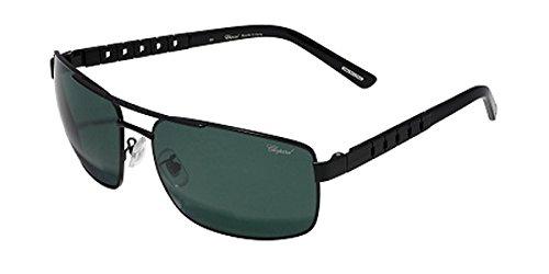 Chopard SCH A58 Sunglasses Color 531P Matte Black Size 63MM Polarized (Sunglasses For Men Chopard)