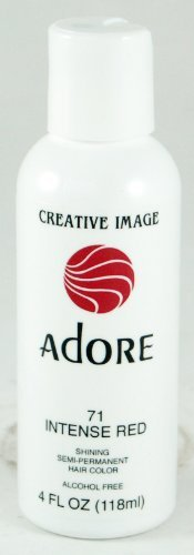 Adore Creative Image Hair Color #71 Intense Red