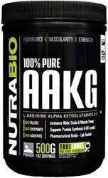 NutraBio 100% Pure AAKG (L-Arginine Alpha Ketoglutarate) - 500 Grams - Nitric Oxide Booster. by NutraBio