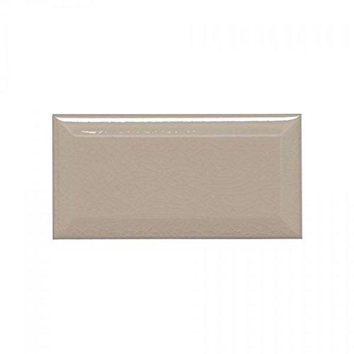 Beige Bevelled Crackle 3x6 Subway Tile Backsplash, Kitchen, Walls, Countertop, Bathroom, Herringbone (Sample)