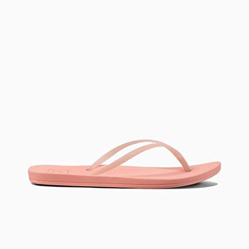 (Reef - Womens Escape Lux Sandals, Size: 10 B(M) US, Color: Coral)