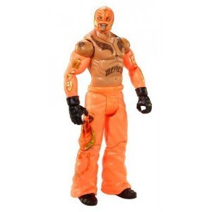 WWE Rey Mysterio Jr - Summerslam Heritage Series - In Box Orange (Dibiase Figure Wwe Ted)