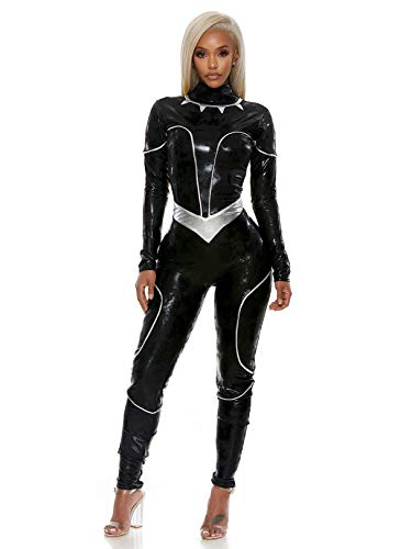 Forplay Women's Reigning Panther Sexy Character Costume, Black S/M ()