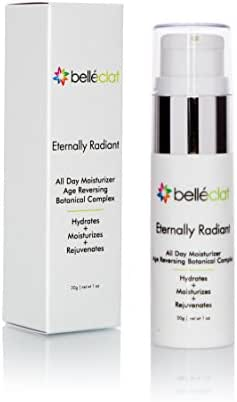 Moisturizer Anti Aging Skin Care - Belléclat Eternally Radiant Hydrating Best Daily Moisturizer For Flaky, Dry Skin with Age Reversing Moisturizing Lotion Botanical Complex