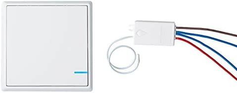 nineleaf wireless lights switch kit, no wiring, quick create or relocate on/off  self-powered remote control switch for house lighting(1pk one-way switch  and