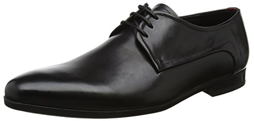 Hugo Boss Mens Lace-up Shoes Pariss Derb IT 50374379 Size 8/42 Black