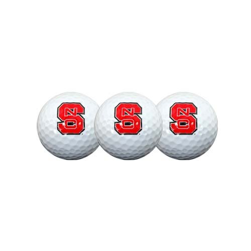 Team Effort NC State Wolfpack Golf Ball 3 Pack (State Golf Nc)
